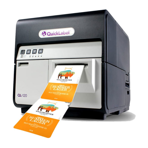 QuickLabel Kiaro QL-120 4 Renk Tonerli Barkod Yazıcı